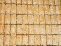 Bolos turcos do baklava Fotos de Stock