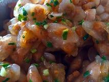 Bolos vietnamianos da bolinha de massa do arroz Foto de Stock