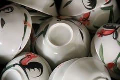 Bols chinois de nouille Photo libre de droits