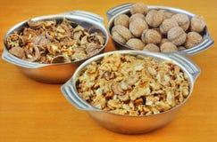 Bols de noix Photographie stock libre de droits