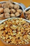 Bols de noix Photographie stock