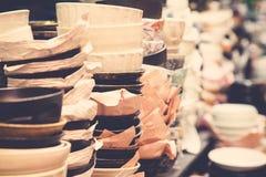 Bols japonais de nourriture à vendre photo libre de droits