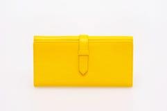 Bolsa amarela Fotografia de Stock Royalty Free