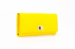 Bolsa amarela Imagens de Stock