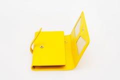 Bolsa amarela Imagem de Stock
