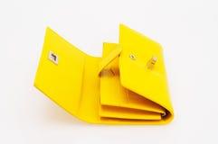 Bolsa amarela Foto de Stock Royalty Free