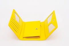 Bolsa amarela Fotografia de Stock