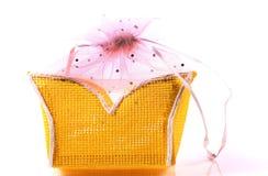 Bolsa amarilla Imagen de archivo