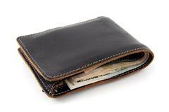 Bolsa com dinheiro Fotos de Stock