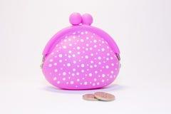 Bolsa cor-de-rosa Imagem de Stock Royalty Free