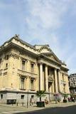 Bolsa de acción de Bruselas (Bélgica) Imágenes de archivo libres de regalías
