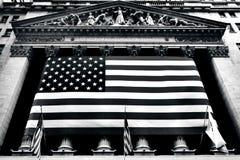 Bolsa de acción de Nueva York Wall Street Imagen de archivo libre de regalías