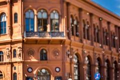 Bolsa de acción de Riga Imagen de archivo libre de regalías