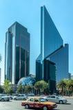 Bolsa de acción mexicana o Bolsa Mexicana de Valores, Ciudad de México Imagenes de archivo