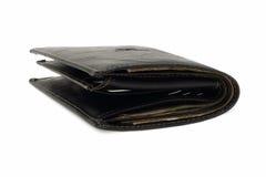 Bolsa de couro com dinheiro Imagens de Stock Royalty Free