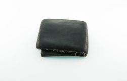 Bolsa de couro velha imagens de stock