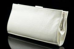 Bolsa de mulher branca Imagem de Stock Royalty Free