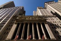 A Bolsa de Nova Iorque Imagem de Stock
