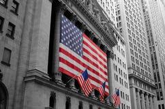 A Bolsa de Nova Iorque Foto de Stock Royalty Free