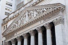 A Bolsa de Nova Iorque Imagens de Stock