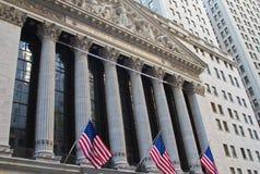 A Bolsa de Nova Iorque Fotos de Stock