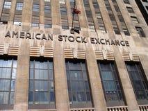 A Bolsa de Nova Iorque, talvez podia ser chamada um clássico fotos de stock royalty free