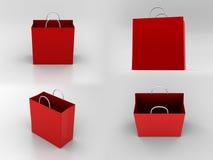Bolsa de papel Ilustración del Vector