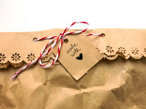 Bolsa de papel Foto de archivo
