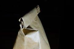 Bolsa de papel Fotos de archivo