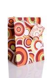 Bolsa de papel colorida de las compras Imagen de archivo