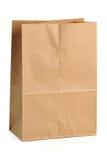 Bolsa de papel de Brown Fotos de archivo libres de regalías
