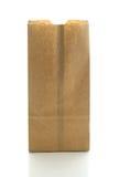 Bolsa de papel de Brown. Imagen de archivo libre de regalías