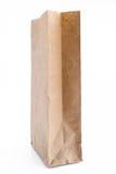 Bolsa de papel de Brown con los regalos Foto de archivo libre de regalías