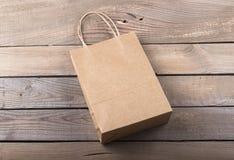 Bolsa de papel del arte Imágenes de archivo libres de regalías