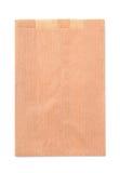 Bolsa de papel plegable imágenes de archivo libres de regalías