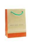 Bolsa de papel reciclable de Brown foto de archivo libre de regalías