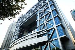 Bolsa de Shangai Imágenes de archivo libres de regalías
