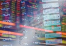 A bolsa de valores imagem de stock royalty free