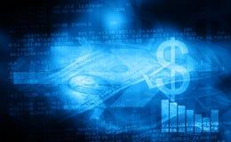 A bolsa de valores ilustração royalty free