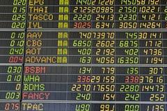 A bolsa de valores Fotos de Stock