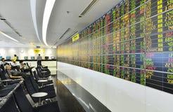 A bolsa de valores Fotografia de Stock Royalty Free