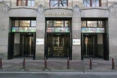 A bolsa de valores de Amsterdão é uma da bolsa de valores a mais velha Fotografia de Stock Royalty Free