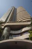 A bolsa de valores de Bombaim em Mumbai Fotos de Stock Royalty Free