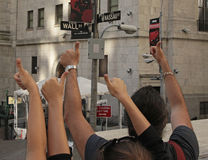 A bolsa de valores de NY, Wall Street, NYC Fotos de Stock