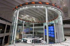 A bolsa de valores do Tóquio (TSE) Imagem de Stock Royalty Free