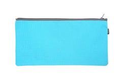 Bolsa del algodón con la cremallera gris Fotos de archivo libres de regalías