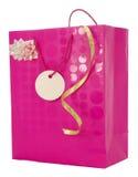 Bolsa del regalo de Girly Fotografía de archivo libre de regalías