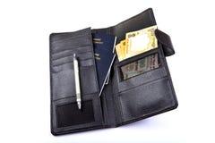 Bolsa del viaje Foto de archivo libre de regalías