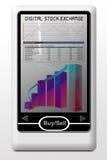 Bolsa digital ilustración del vector