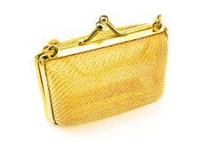 Bolsa dourada Fotografia de Stock